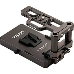 Tilta V-Lock Battery Base Plate for Tilta BMPCC4K Cage TA-BSP-V-G