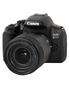 Canon EOS 850D + 18-135 f/3,5-5,6 IS STM