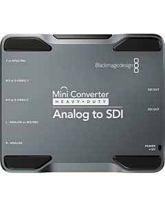 Blackmagic Mini Converter H/Duty - Analog to SDI
