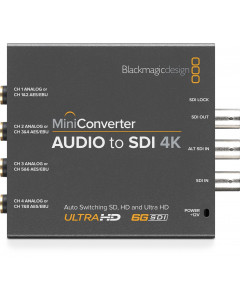 Blackmagic Mini Converter - Audio to SDI -6