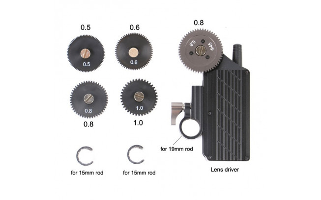 Wireless Follow Focus with remote-2