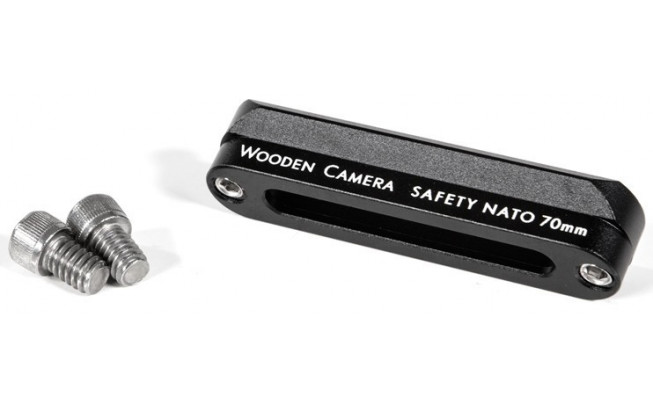 WoodenCamera Safety NATO Rail (70mm) -2