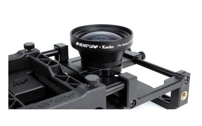Beastgrip x Kenko Pro Series 0.75X Wide Angle Lens (Lens only)-3