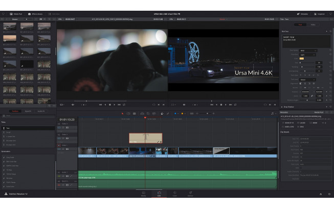 Blackmagic DaVinci Resolve Studio 17 (code) + Speed Editor offert-4