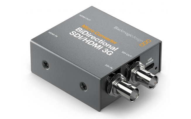 Blackmagic Micro Converter BiDirectionnal SDI/HDMI 3G wPSU-2