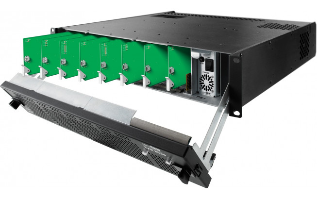 Blackmagic OpenGear 20 Slot Frame (with fans and one PSU)-1