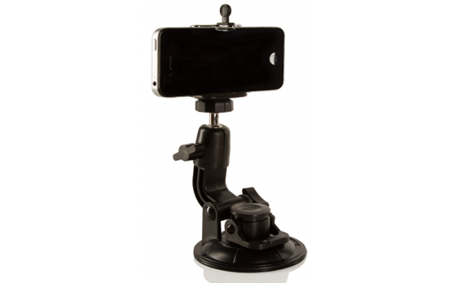 Shape SUCTION CUP WITH SMARTPHONE MOUNT-1