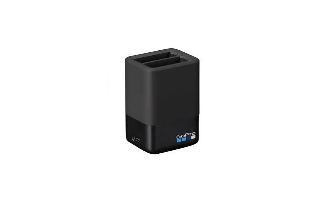 GoPro Hero5/6/7 Double Charger + 1 Battery-2