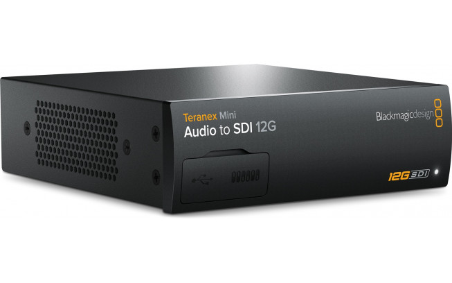 Blackmagic Teranex Mini - Audio to SDI 12G-1