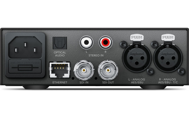 Blackmagic Teranex Mini - Audio to SDI 12G-3