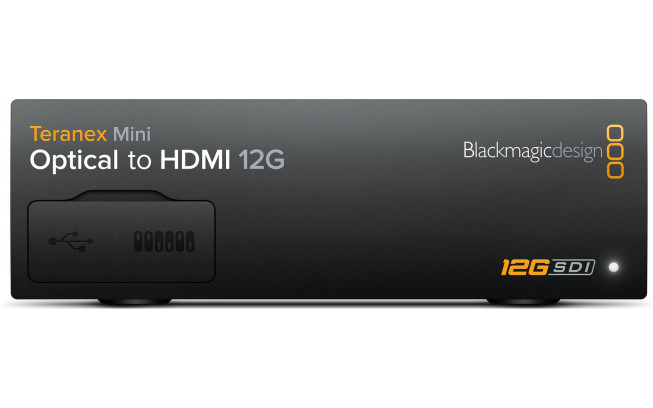 Blackmagic Teranex Mini - Optical to HDMI 12G-2