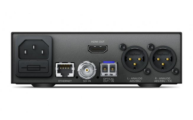Blackmagic Teranex Mini - Optical to HDMI 12G-3