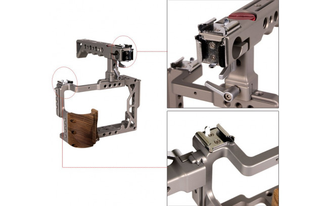 Varavon ZEUS - Standard Cage for A7RII & A7SII & A7II-3